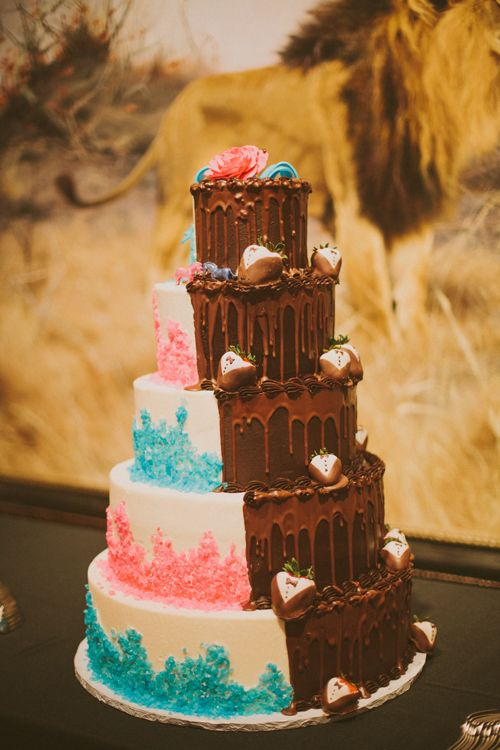 Half and Half Wedding Cakes The One Bride Guide